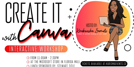 Create IT With CANVA: ADVANCE Workshop tickets
