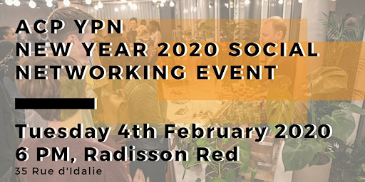 ACP YPN New Year 2020 Social Networking Event