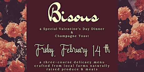 Bisous, a Valentines Dinner tickets