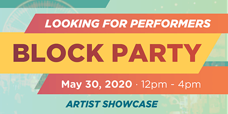 Looking for Live Performers for a Block Party in Jersey City tickets