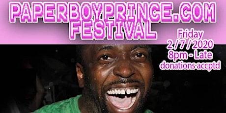 PaperboyPrince.com Festival tickets