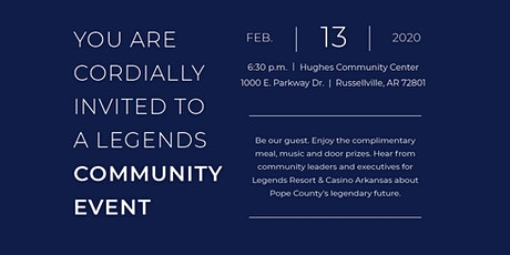 Community Event tickets