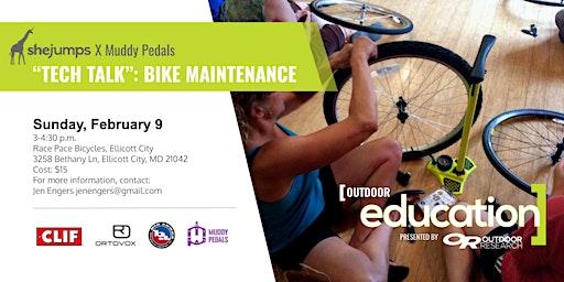 MD SheJumps X Muddy Pedals - Tech Talk: Bike Maintenance