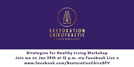 Strategies for Healthy Living Workshop