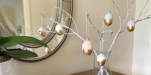 Gold Leaf Easter Egg Workshop (Perkins/Highland)