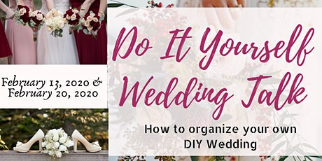 Do It Yourself Wedding Talk tickets