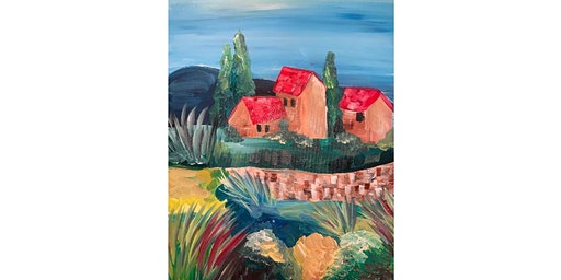 Tuscan Evenings Canvas Painting Worshop- Buford