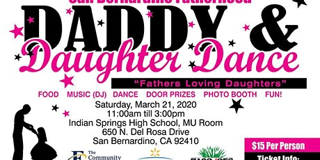 "Daddy & Daughter Dance - ""Fathers Loving Daughters"" tickets"
