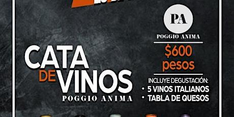 Cata de Vinos Italianos entradas