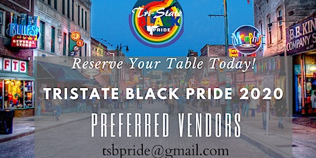 VENDOR'S REGISTRATION LINK FOR TSB PRIDE 2020 tickets