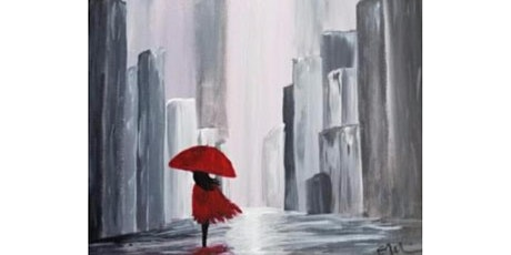 """3/18 - Corks and Canvas Event @ Nectar Catering and Events, SPOKANE """"Walk in the Rain"""" tickets"""