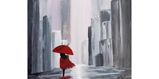 """3/18 - Corks and Canvas Event @ Nectar Catering and Events, SPOKANE """"Walk in the Rain"""""""