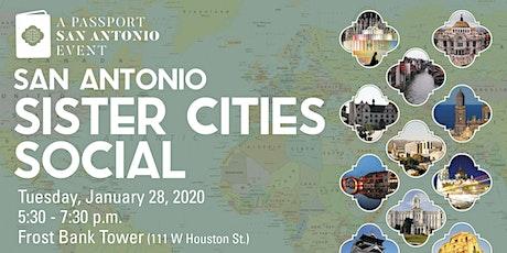 San Antonio Sister Cities Program Social tickets