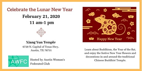 Lunar New Year Program and Luncheon tickets