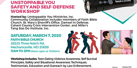 Unstoppable You Safety and Self-defense Workshop tickets