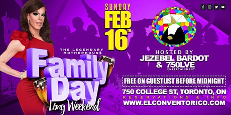 Long weekend Sunday Party! - Family Day tickets
