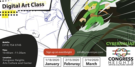 Digital Art with Cyberninjaz- Saturday tickets