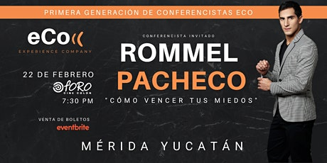 ECO Conferencias: Primera Generación boletos