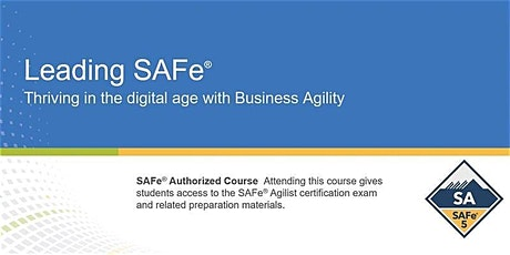 Leading SAFe® 5.0 Certification Training in Ottawa, Canada tickets