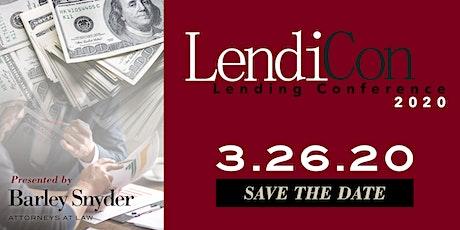 LendiCon 2020 tickets