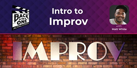 Intro to Improv tickets
