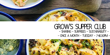 Grow's Sustainable Monthly Supper Club tickets
