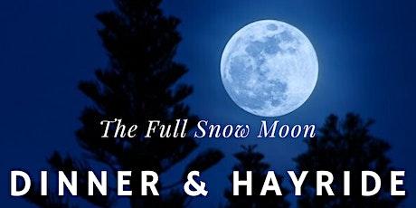 The Full Snow Moon Hayride & Dinner tickets