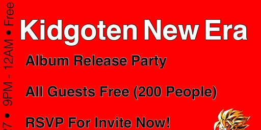 Kidgoten New Era Album Listening Party
