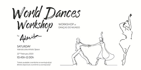 World Dances Workshop by Aderita Silva tickets