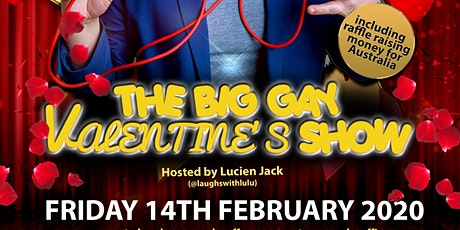The Big Gay Valentine's Show @ The Two Brewers, Clapham tickets