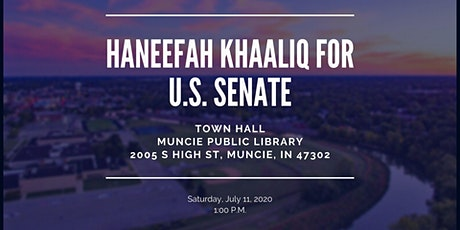 Muncie Town Hall Live Virtual Event tickets