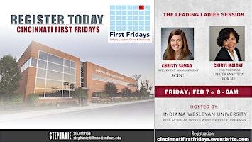 Cincinnati First Fridays with Christy Samad and Cheryl Malone
