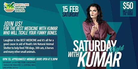 Saturday Night with Kumar in aid of Noah's Ark Natural Animal Shelter tickets