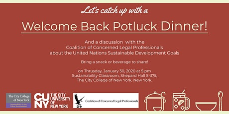 Welcome Back Pot Luck and Documentary Screening tickets