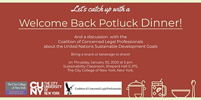 Welcome Back Pot Luck and Documentary Screening