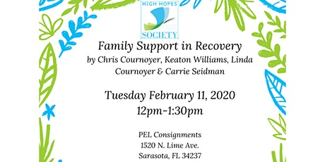 Family Support in Recovery tickets