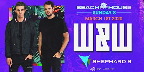 W&W at Beach House Sundays  2020 Kickoff Event tickets