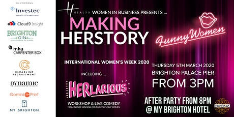 MAKING HERSTORY  - International Women's Week 2020 tickets