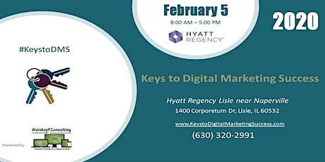 Keys to Digital Marketing Success #KeystoDMS tickets