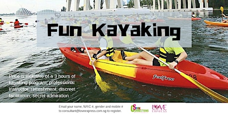 8 MAR: (50% OFF) FUN KAYAKING tickets