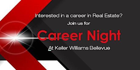 Keller Williams Bellevue Career Night tickets