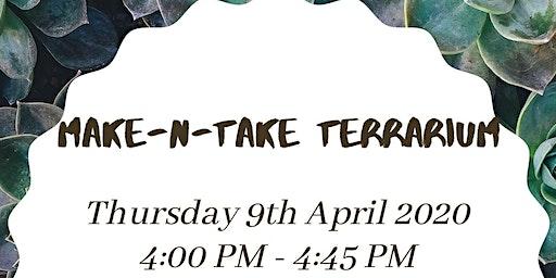 Make-N-Take Terrarium