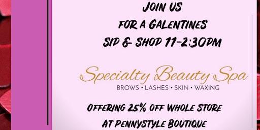 Sip & Shop Galentines Day