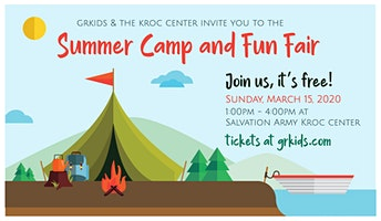 2020 GRKIDS Summer Camp & Fun Fair at the Kroc Center