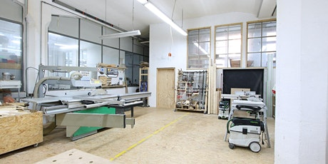 Einweisung in die Holzwerkstatt für Schreiner, Zimmerer und Mitglieder Tickets