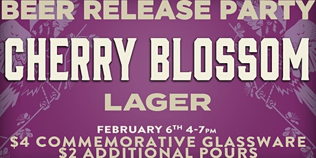 Cherry Blossom Beer Release tickets