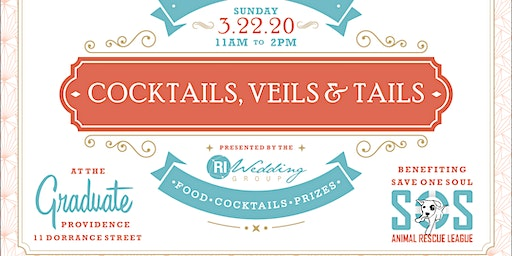 Cocktails, Veils & Tails - A Boutique Style Wedding Show (Spring 2020)