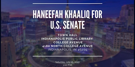 Indianapolis Town Hall In-Person and/or Virtual Event tickets