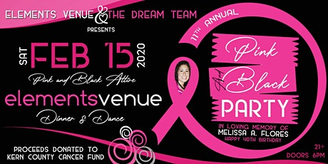 11th Annual Pink & Black Party tickets