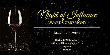 The Inaugural: A Night of Influence Awards Gala tickets